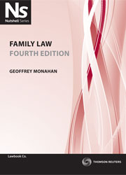 Nutshell Family Law 4th edition eBook
