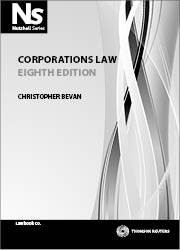 Student law books thomson reuters legal australia thomson nutshell corporations law 8e fandeluxe Image collections