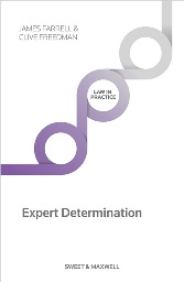 Kendell on Expert Determination 5th Edition
