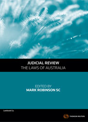 Judicial Review - The Laws of Australia - eBk