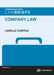 LawBriefs: Company Law 1e book + ebook