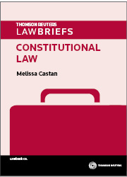 LawBriefs: Constitutional Law 1st Edition