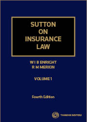 Sutton on Insurance Law 4e book + ebook
