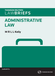 LawBriefs: Administrative Law 1st edition ebook