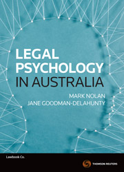 Legal Psychology in Australia ebook