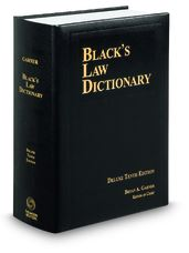 Black's Law Dictionary 10th edition