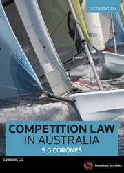 Competition Law in Australia 6th edition