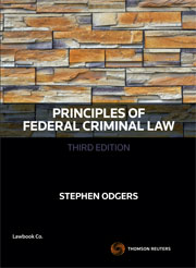 Principles of Federal Criminal Law 3rd Edition - Book