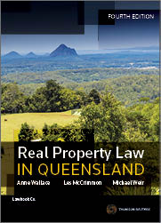 Real Property Law In Queensland Th Edition