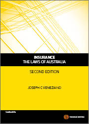 Insurance - The Laws of Australia 2e