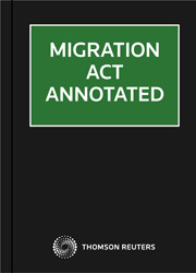 Migration Act Annotated on Westlaw AU