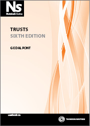 Nutshell: Trusts 6th Edition