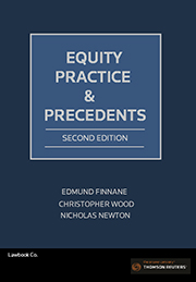 Equity Practice and Precedents 2nd Edition - Book