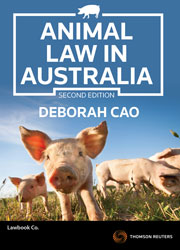 Animal Law in Australia 2nd edition book + eBook