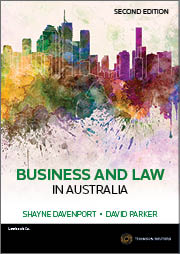 Business and Law in Australia 2nd edition Book + eBook