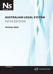 Nutshell: Australian Legal System 5e book + ebook