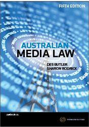 Australian Media Law 5e ebook