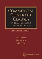 Commercial Contract Clauses 2e book + ebook
