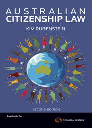 Australian Citizenship Law 2nd Edition