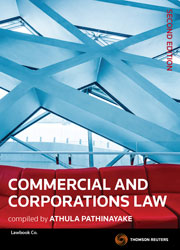 Commercial and Corporations Law 2nd edition