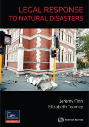 Legal Response to Natural Disasters