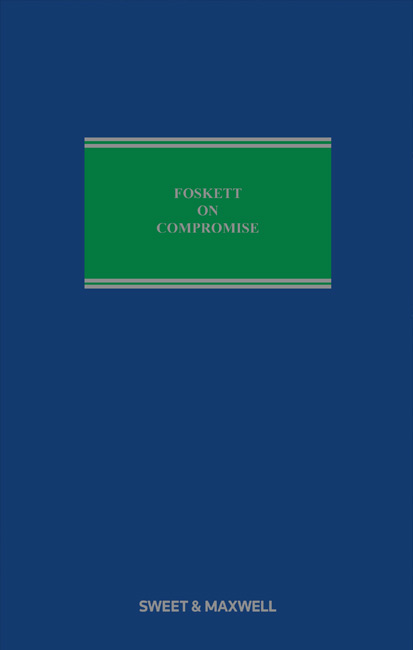 Foskett on Compromise 8th edition
