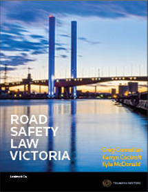 Road Safety Law Victoria - Book+eBook