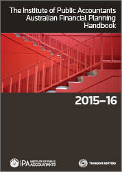 The IPA Australian Financial Planning Handbook 2015-16 Book