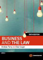 Business and the Law 6th edition book + eBook