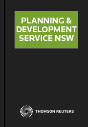 Planning and Development Service NSW eSubscription