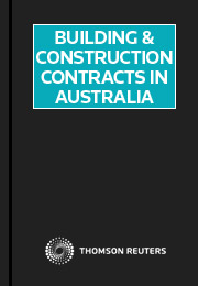 Building and Construction Contracts in Australia eSubscription