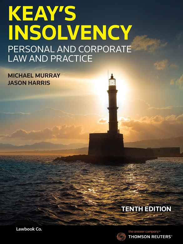 Keay's Insolvency 9th ed book + eBook