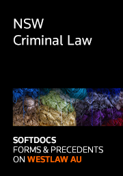 Softdocs Online NSW Criminal