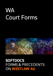 Softdocs Online WA Court Forms