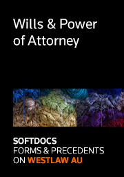 Softdocs Online AUS Wills & Powers of Attorney