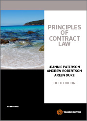Principles of Contract Law 5th edition book + eBook