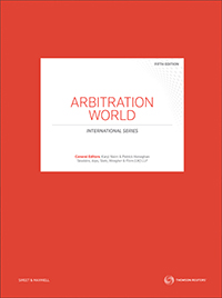 Arbitration World Jurisdictional Comparisons 5e