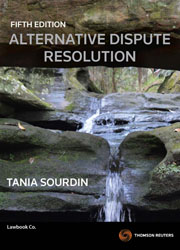 Alternative Dispute Resolution 5th ed ebook