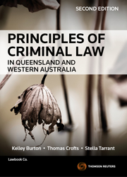 Principles of Criminal Law in Queensland and Western Australia 2nd edition eBook