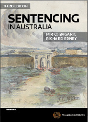 Sentencing in Australia, 3rd Edition - eBook