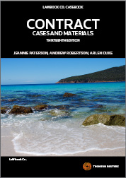 Contract: Cases and Materials 13th edition