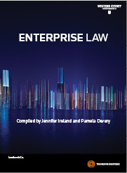 Enterprise Law ebook