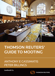 The Thomson Reuters' Guide to Mooting
