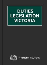 Duties Legislation Victoria Online