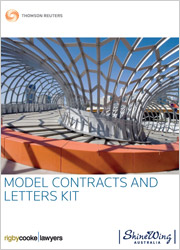 Model Contracts & Letters Kit: Online (Westlaw AU)