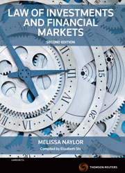 Law of Investments and Financial Markets 2nd ed
