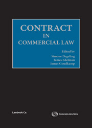 Contract in Commercial Law