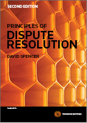 Principles of Dispute Resolution 2e