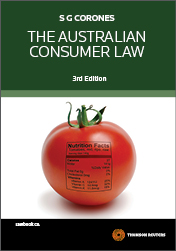 The Australian Consumer Law 3rd ed