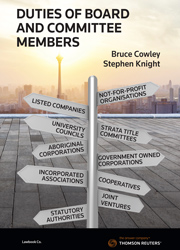 Duties of Board and Committee Members book + ebook